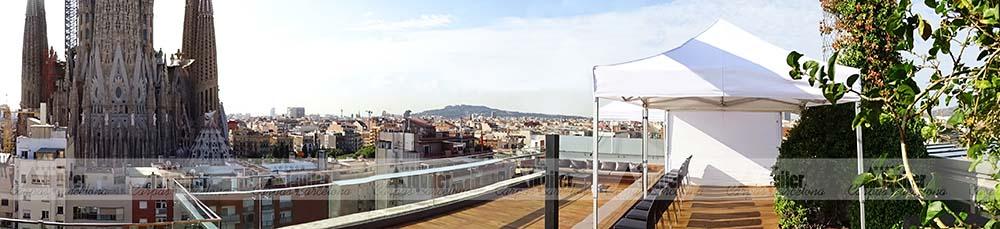 Carpas en Barcelona de alquiler