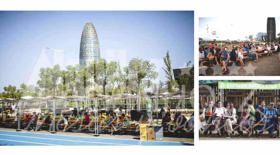 alquiler mesas Barcelona