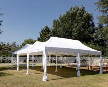 Carpa modular para bodas y fiestas