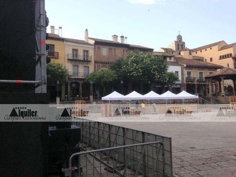 Carpas en Barcelona para eventos
