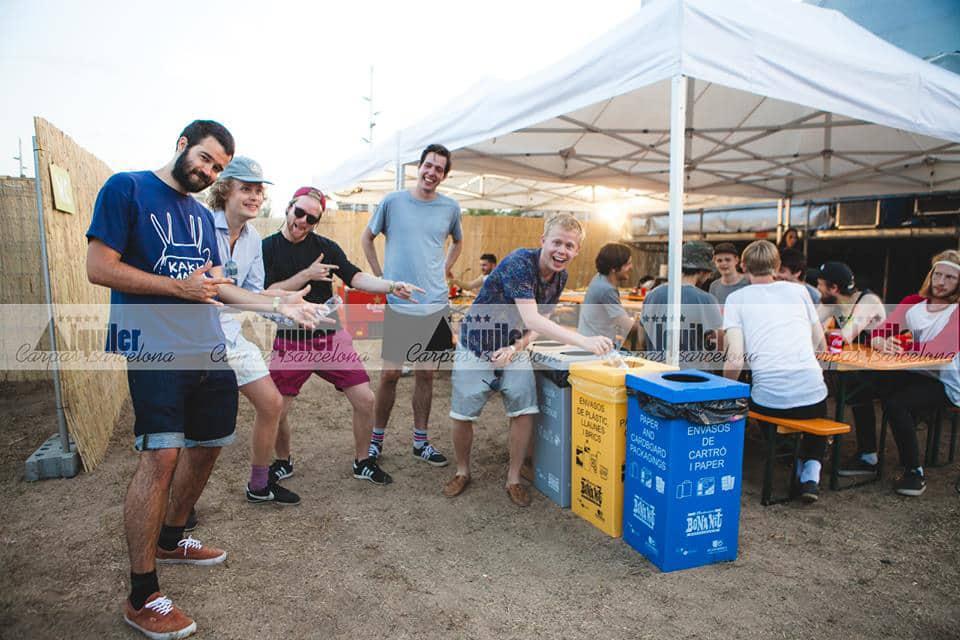 alquiler de carpas para festivales