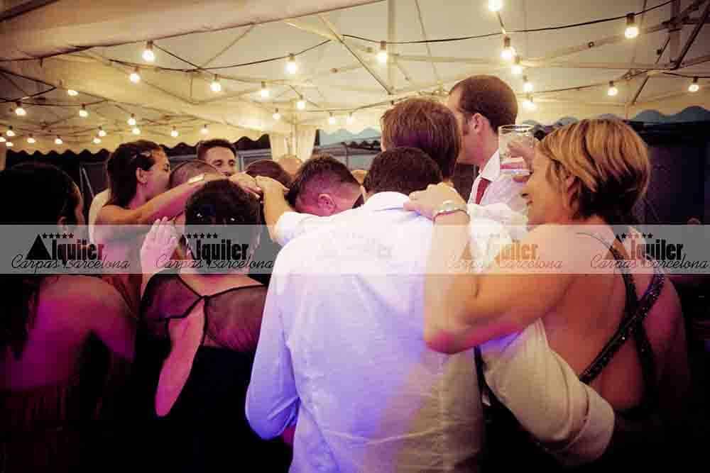 Carpas bodas alquiler