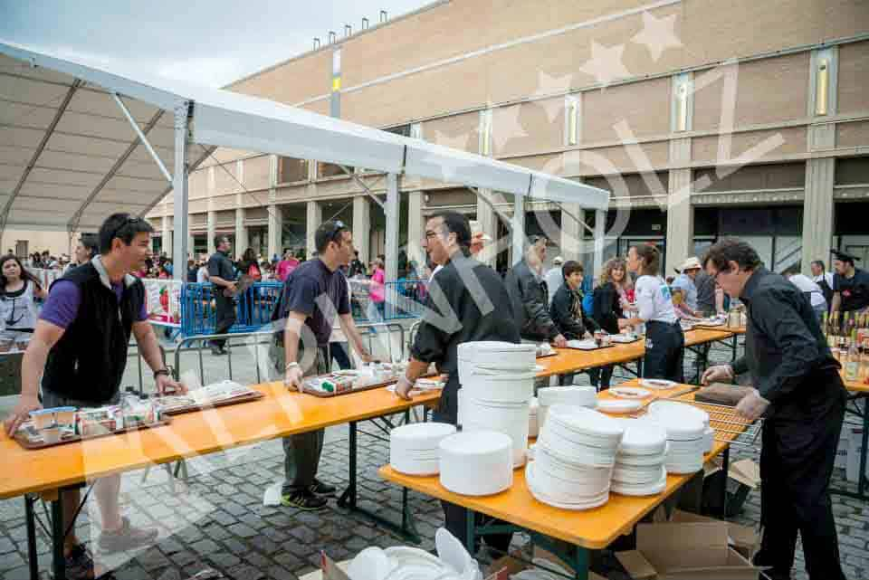 Mesas plegables para eventos y catering
