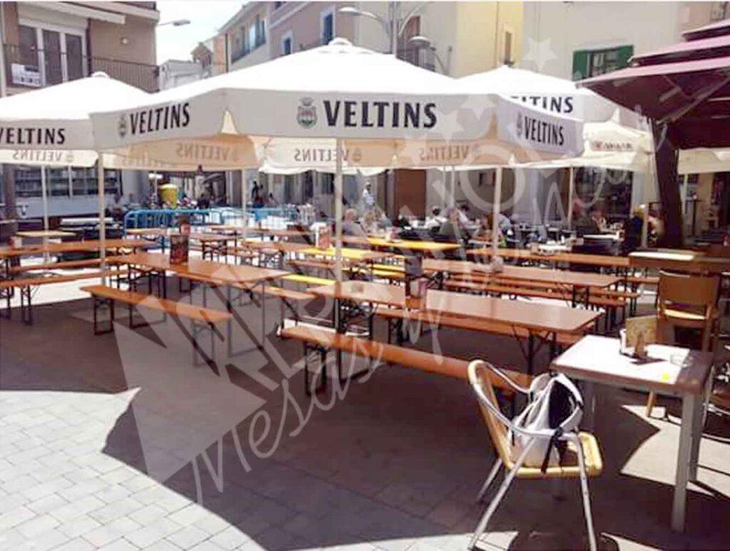 Mesas cerveceras Tarragona