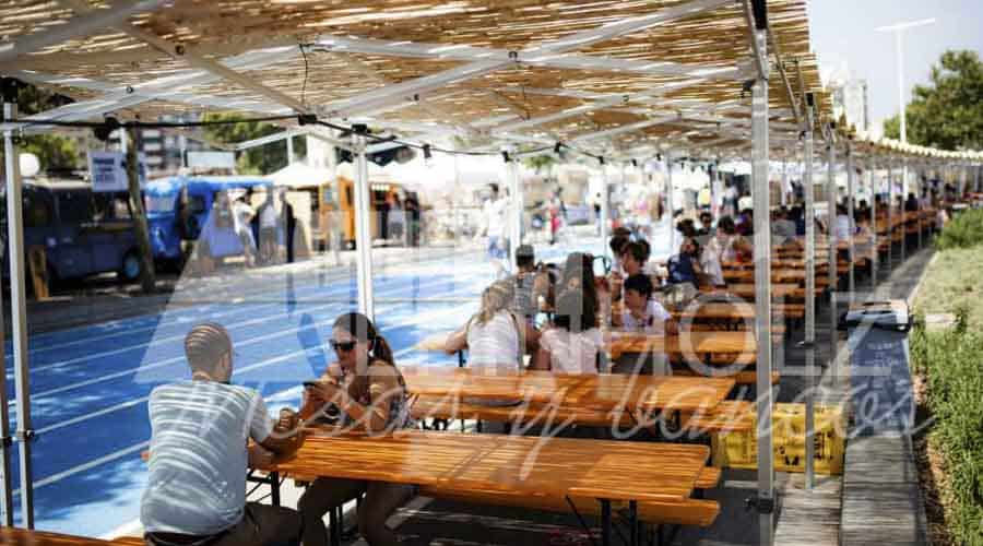 Alquiler mesas festivales